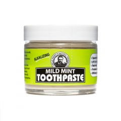 Mild Mint Toothpaste (3 oz glass jar)