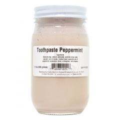 Peppermint Toothpaste (1.5 lb jar)