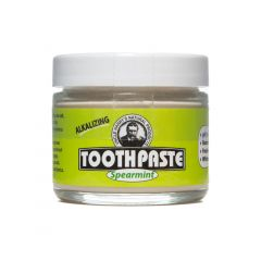Spearmint Toothpaste (3 oz glass jar)