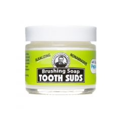 Peppermint Tooth Suds (2 oz glass jar)