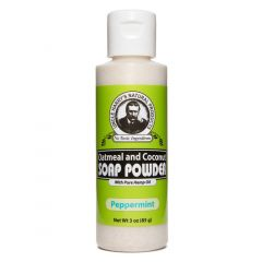 Oatmeal Soap Powder - Peppermint (3 oz)