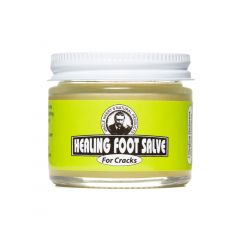 Healing Foot Salve for Cracks (2 oz glass jar)