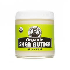 Organic Shea Butter (4 fl oz glass jar)