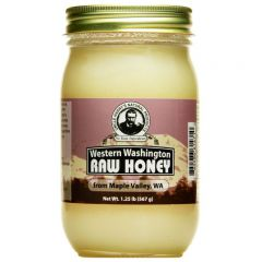 Western Washington Raw Honey (1.25 lb jar)