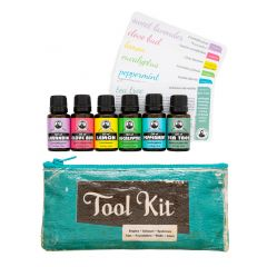 Aromatherapy Tool Kit (6 bottles)