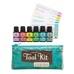 Aromatherapy Tool Kit (6 bottles)