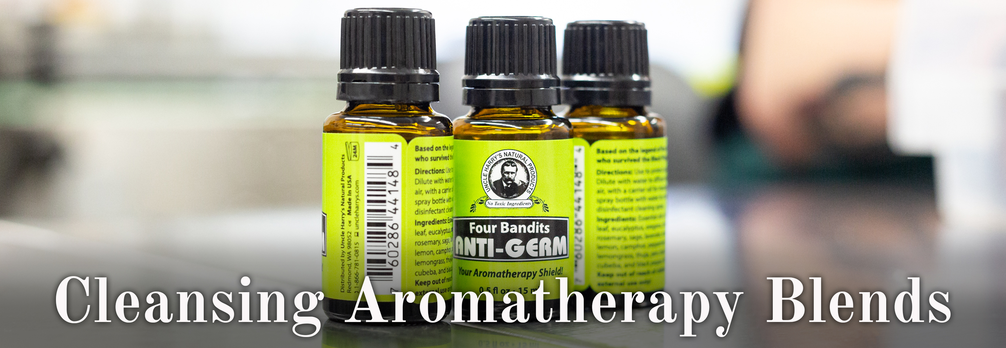 Cleansing Aromatherapy Blends