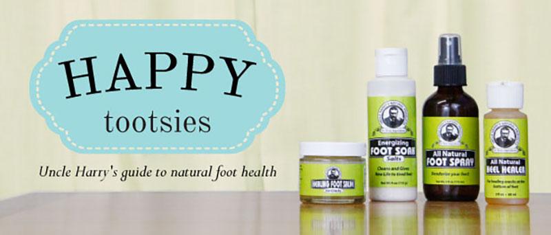 DIY Natural Foot Health Basics