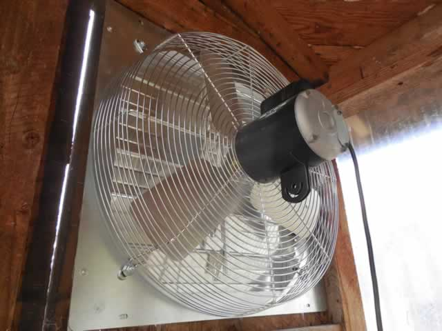 Exhaust fan.