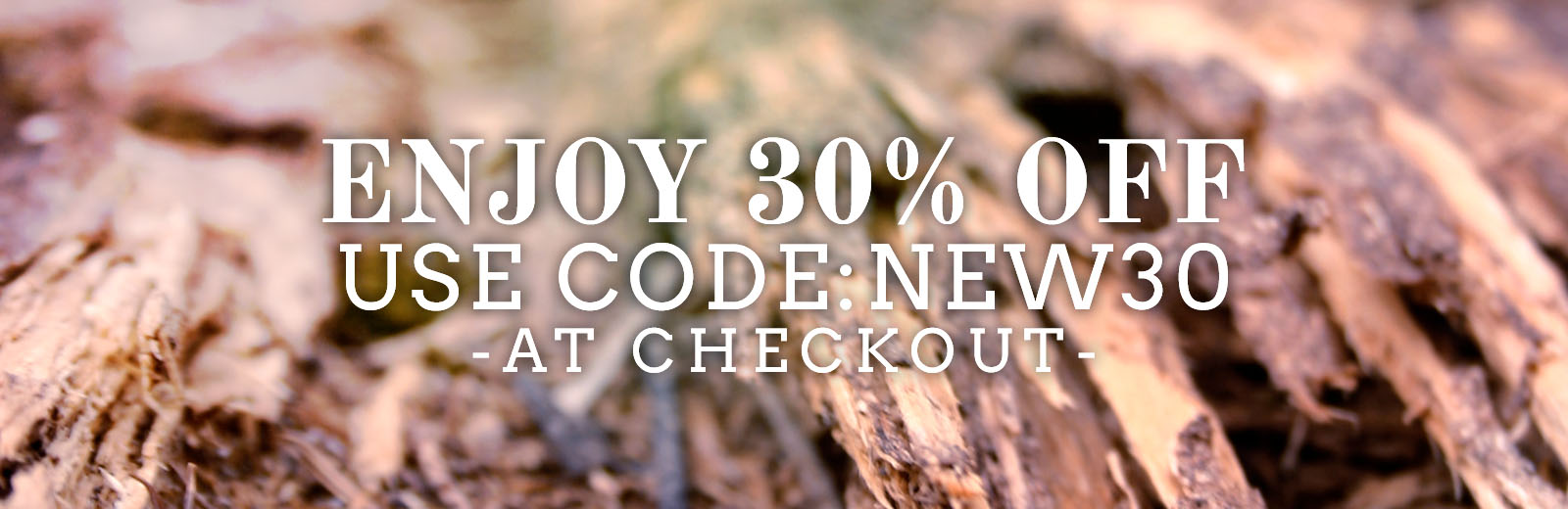 30% Off - NEW30