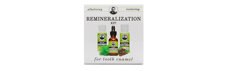 Uncle Harry's Remineralization System for Tooth Enamel